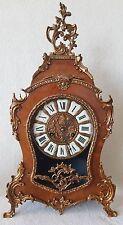 Hermle Boulle Clock Mantel Shelf 8 Day Rare 57cms High Vintage 1970 Bell Strike