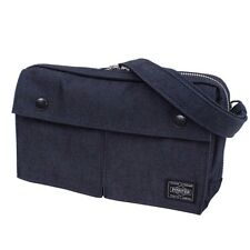 fb3a3f559f New Yoshida Bag PORTER SMOKY POUCH SHOULDER BAG 592-06369 Navy From Japan
