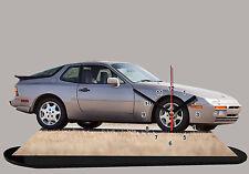 MODEL CARS, PORSCHE 944 -01 car passenger,11,8x 7,8 inches  with Clock
