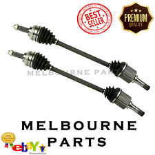 2 QUALITY NEW CV JOINT DRIVE SHAFT FOR SUBARU WRX IMPREZA RS 2001- ABS