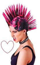 Bristol Novelty Bw903 Mohican Female Wig Womens PinkBlack One Size