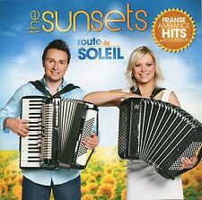 The Sunsets : Route du Soleil - French popular songs on accordion (CD)
