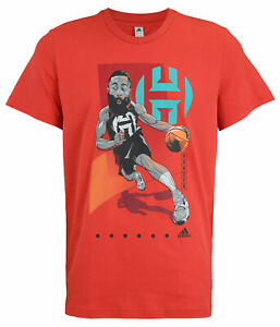 Adidas Men's James Harden Drive GU T-Shirt, Glory Red