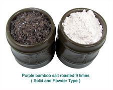 Kaeam purpura Bambu Sal (9 veces tostados) 50g-crystals (tipo Macizo)