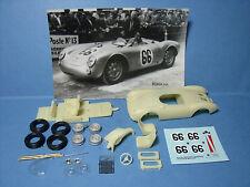 PORSCHE  550  SPYDER  LE  MANS  1955  NUMERO  66   VROOM   KIT  1/43  NO  SPARK