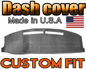 Fits 1992-1994   TOYOTA  PASEO  DASH COVER MAT DASHBOARD PAD /  CHARCOAL GREY