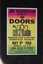 The Doors 1966 Color Poster Greenwich Village New York