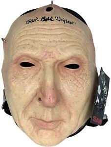 Tobin Bell autographed signed inscribed mask SAW Jigsaw PSA COA John Kramer