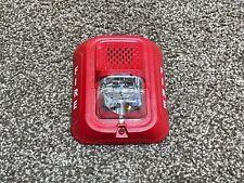 System Sensor P2rl Fire Alarm Hornstrobe Wall Red No Mounting Bracket