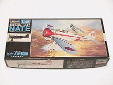 1/48 Hasegawa Tamiya Nakajima Ki-27 NATE Scale Plastic Model Kit Complete E