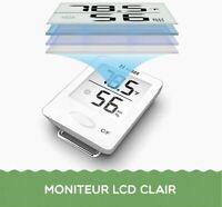 Habor Mini Thermomètre Hygromètre Intérieur Numérique à Haute Précision