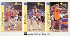 1992 Australia Basketball Cards NBL Factory Team Set Perth Wildcats (12)-Rare