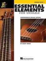 Essential Elements for Ukulele, Book 1 : Comprehensive Ukulele Method, Paperb...
