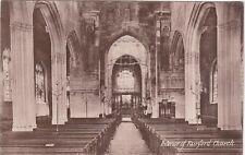 Interior Of Church, FAIRFORD, Gloucestershire