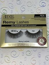 New listing Ardell Professional Remy Lashes Eyelashes 781 Black Keratin Infused Tapered Tips