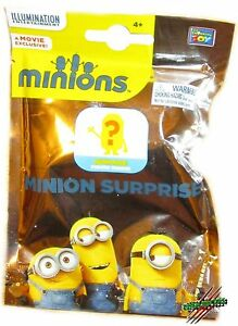 MINIONS Mini Figures Surprise Packs Despicable Me Mystery Bags Stocking Stuffers