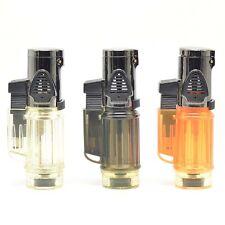 MIni Portable Nice Windproof Trip Torch Jet Flame Refillable Butane gas lighter