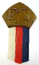 Antique Czech Falcon Sokol Games 1929 Participant Badge