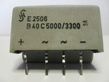 Silizium Brückengleichrichter SIEMENS B40 C5000/3300
