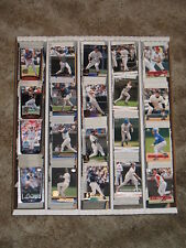 2001 Upper Deck  Baseball Base and Inserts Approximately 367 Card Lot