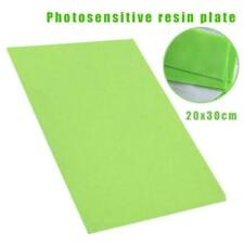 Photopolymer Plate Rubber Stamp Making Craft Letterpress Polymer Die DIY 20*30cm