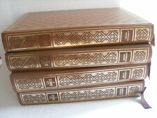 ANCIENNE BIBLE 4 VOLUMES EURO EDITIONS 1975 GRAND LUXE LIMITE 3000 EX  N° 1883