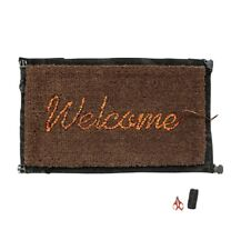 Banksy Welcome Mat Gross Domestic Product Love Welcomes Refuge CONFIRMED