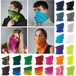 3 in 1 Face Cover Beechfield Morf Original - Snood Scarf Neck Breathable Mask