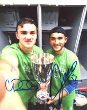 Jordan Morris & Cristian Roldan Signed Color 8X10 Photo Seattle Sounders Mls