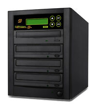 Copystars CD DVD Duplicator 500G hard drive to 4 burners tower + USB 3.0 ISO