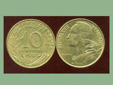 FRANCE  FRANCIA   10 centimes 1992 marianne  ( bis )