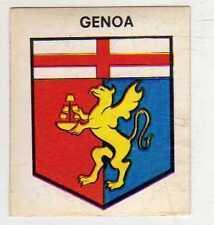 FIGURINA SCUDETTO GOAL CREMA 1976/77-GENOA
