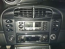 Carbon Fiber Finish Center Dash AC & Switch Panel Cover : fits Porsche 996 early