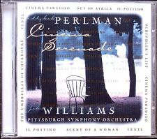 Itzhak PERLMAN John WILLIAMS: CINEMA SERENADE Yentl Schindler's List Paradiso CD
