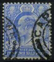 Cape Of Good Hope 1902-4 SG#73, 2.5d Ultramarine KEVII Used #D69418