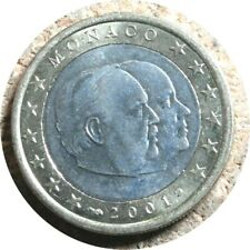 elf Monaco 1 Euro 2001  Prince Rainier III