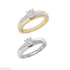 Wedding Very Good Cut I1 Fine Diamond Rings