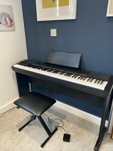 Casio CDP-130, 88 Key Digital Piano with Stand And Stool