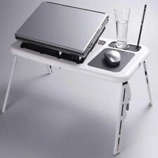 Foldable Adjustable Portable Laptop Stand Computer Desk Table with Cooling Fans