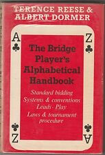 Bridge Player's Alphabetical Handbook Reese/Dormer HB