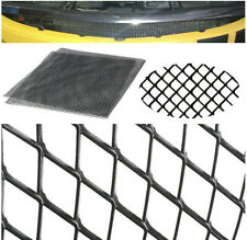 1pc 100X33cm Aluminium Black Rhombus Mesh To Protect Cars Intercooler Radiator