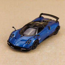 2016 Pagani Huayra BC Metallic Blue Model Car 1:38 12cm Die-Cast Pull Back