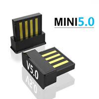 USB Bluetooth V5.0 Wireless Mini Dongle Adapter For Windows 7/8/10 PC Laptop