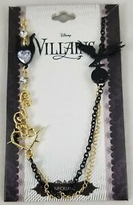 New Disney Sleeping Beauty Maleficent Charms Villains Necklace Cosplay