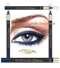 L'Oreal Super Liner Silkissime 24HR Waterproof Eyeliner Moonlight Blue New