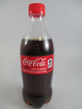 Coca-Cola Sample Bottle with X Label Demo Bottling Company Promo Sample Design