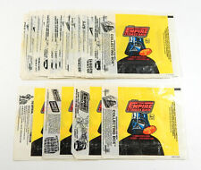 Lot of (36) 1980 Topps Star Wars Empire Strikes Back ESB Series 3 Wax Wrappers