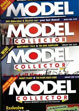 Various Issues of MODEL COLLECTOR Magazine from April 1997 to December 1999