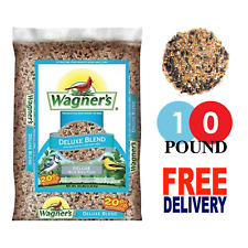 Wagner's Deluxe Blend Wild Bird Food with Sunflower & Purpose Seeds 10-Pound Bag