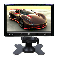 7'' Ultra Thin HD 800x480 TFT LCD Color Headrest  VCR DVD Car Rear View Monitor
